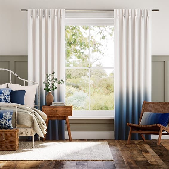 Ombre Midnight Curtains