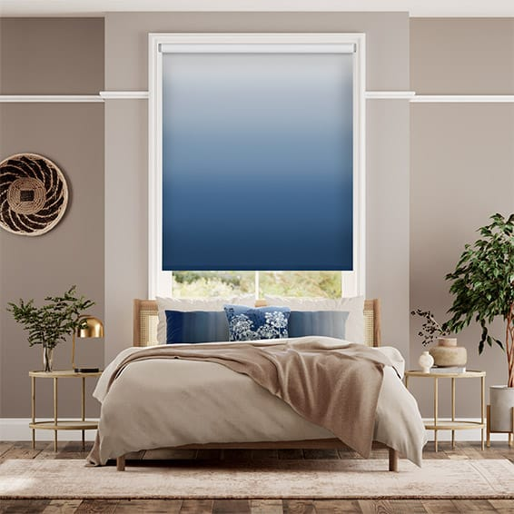 Ombre Midnight Roller Blind