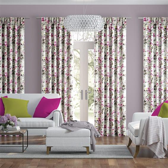 Paeonia Rose Curtains