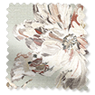 Painterly Floral Faux Silk Mist swatch image
