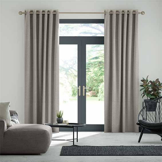 Paleo Linen Smoke Curtains
