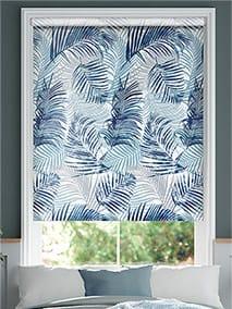 Palm Leaf Blue Roller Blind thumbnail image