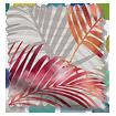 Palm Leaf Burnt Orange Roller Blind swatch image