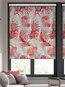 Palm Leaf Burnt Orange Roller Blind thumbnail image