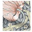 Palm Leaf Natural Grey Roller Blind swatch image
