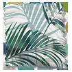 Palm Leaf Sage Green Roman Blind swatch image