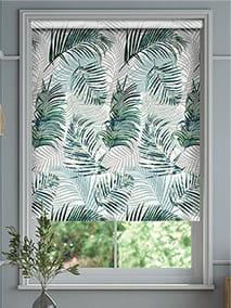Palm Leaf Sage Green Roller Blind thumbnail image