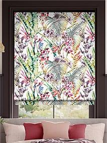 Paradise Flamingo Roman Blind thumbnail image