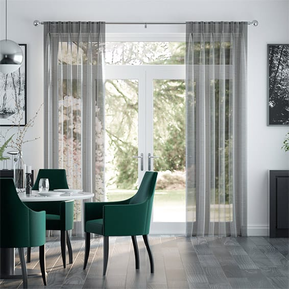Paraiso Voile Steel Curtains