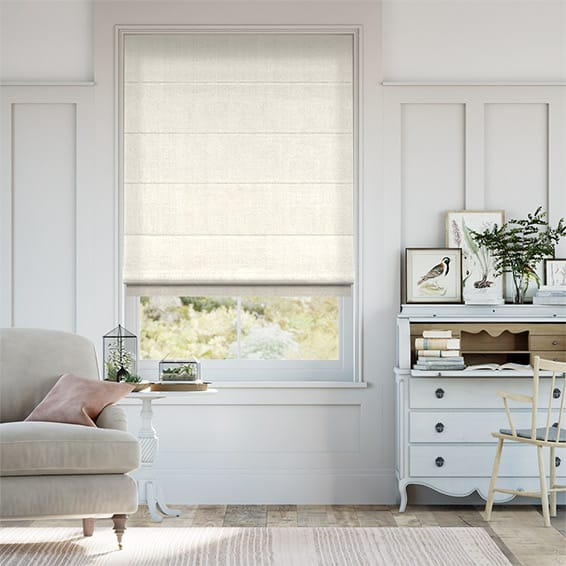 Penrith Cream Roman Blind