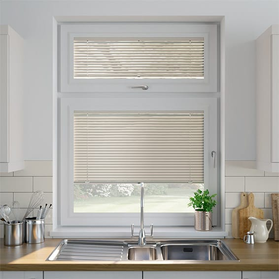 Brushed Nickel PerfectFIT Venetian Blind