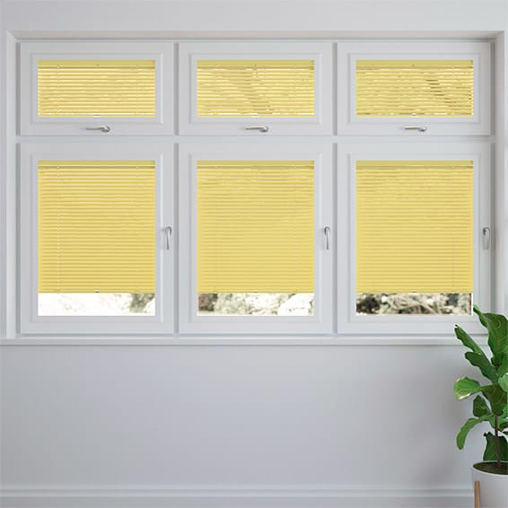 Energetic Yellow PerfectFIT Venetian Blind