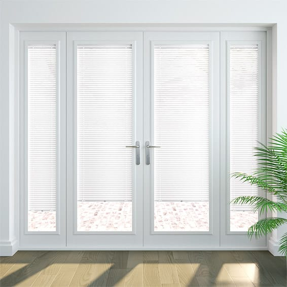 Gloss White PerfectFIT Venetian Blind