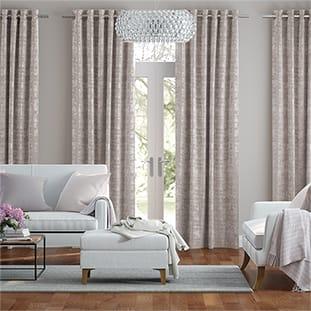 Persian Velvet Natural Blush Curtains thumbnail image
