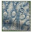 Pinion Vintage Linen Storm Blue Roman Blind slat image