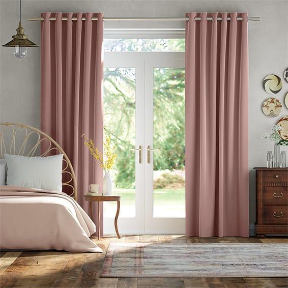 Plush Velvet Orchid Curtains