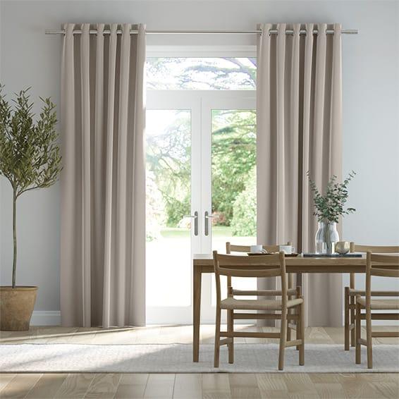 Plush Velvet Stone Curtains