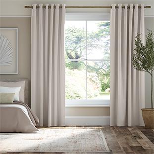 Plush Velvet Stratus Grey Curtains thumbnail image