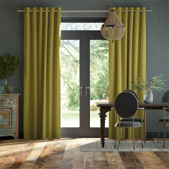 Plush Velvet Zest Curtains