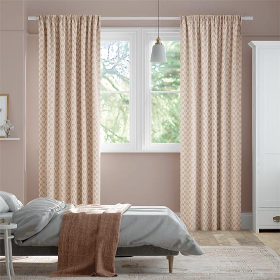 Poacea Blush  Curtains