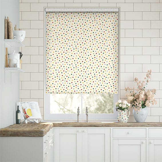 Polka Dot Multi Roller Blind