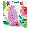 Polly & Friends Berry Curtains slat image