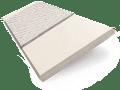 Powder Suave & Mercury Faux Wood Blind - 50mm Slat slat image