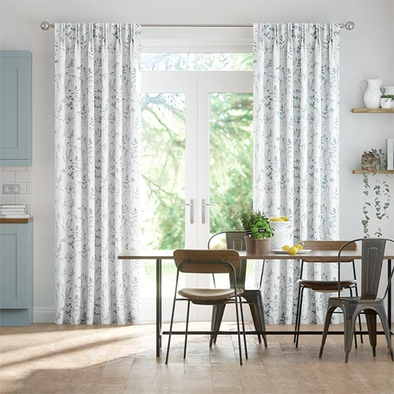 Prairie Sky Blue Curtains