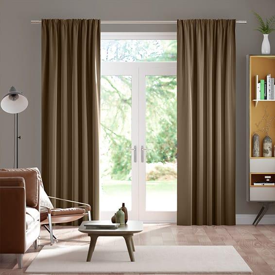 Premium Velvet Mink Curtains
