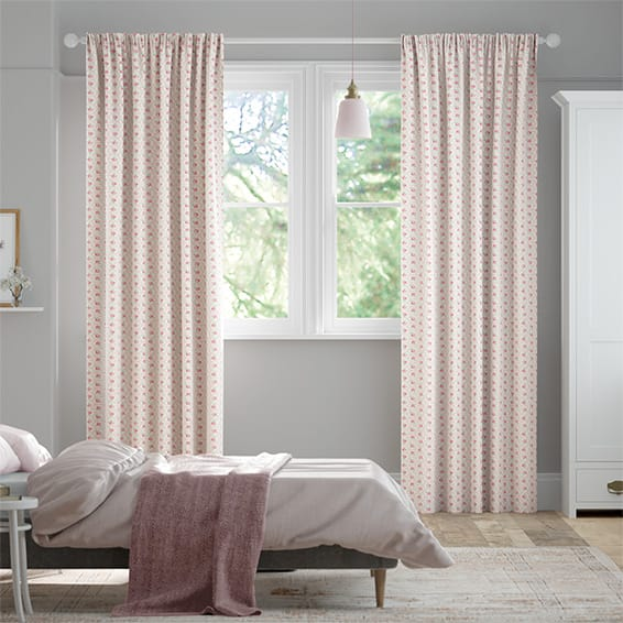 Provence Rose Pink Curtains