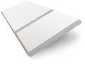 Pure White & White Wooden Blind with Tapes - 64mm Slat slat image