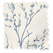 Pussy Willow Off White Seaspray Roman Blind swatch image