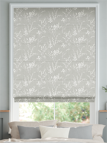 Pussy Willow Steel Roman Blind thumbnail image