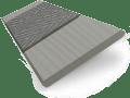 Quartz Madera & Dusk Faux Wood Blind - 50mm Slat slat image
