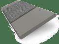 Quartz Suave & Dusk Faux Wood Blind - 50mm Slat slat image