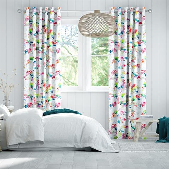Rainforest Rainbow Curtains