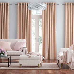 Real Silk Blush Curtains thumbnail image