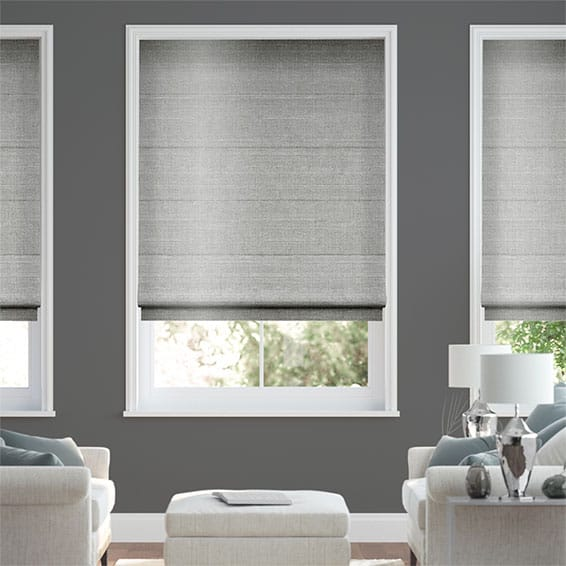 Real Silk Platinum Roman Blind