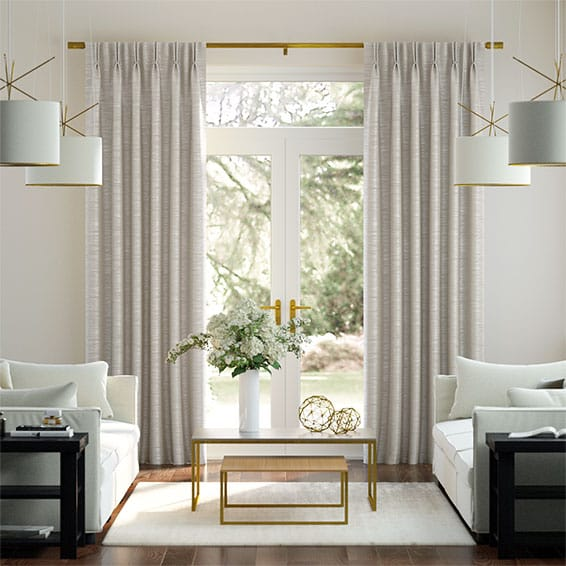 Real Silk Quartz Curtains