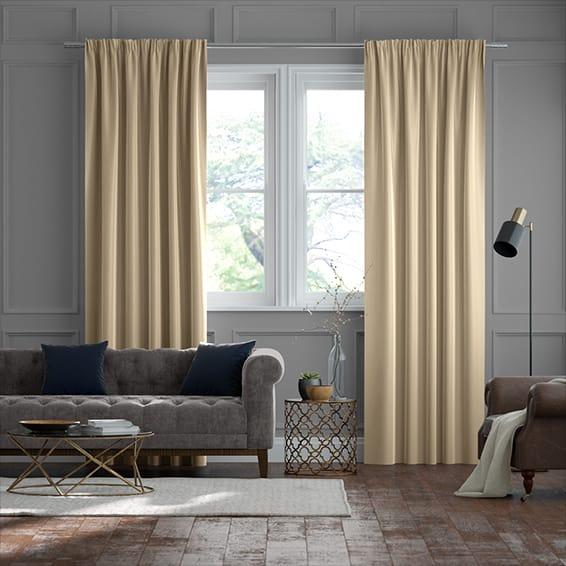 Real Silk Sand Curtains