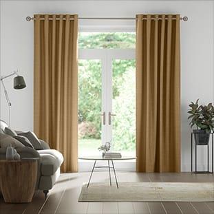 Real Silk True Bronze Curtains thumbnail image