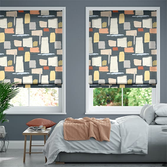 Reishi Twilight Roman Blind