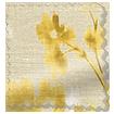 Renaissance Faux Silk Golden Curtains swatch image