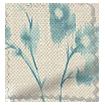 Renaissance Linen Aqua Blue Roman Blind swatch image