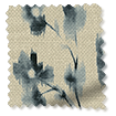 Wave Renaissance Linen Charcoal swatch image