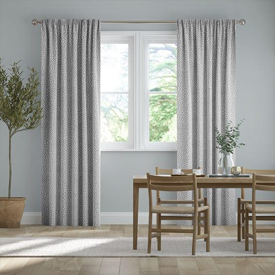 Rosa Silver Curtains