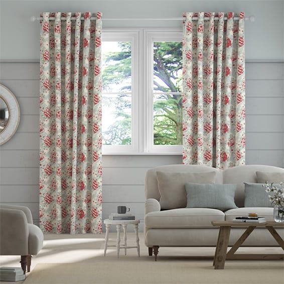 Rose Bloom Multi Curtains