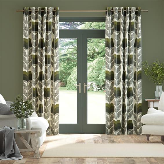 Rosebud Moss Curtains