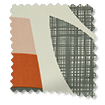 Rosebud Orange Curtains slat image