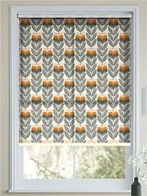 Rosebud Orange Roller Blind thumbnail image